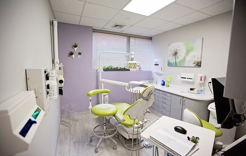green exam room